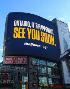 theScore Billboard, Ontario 2